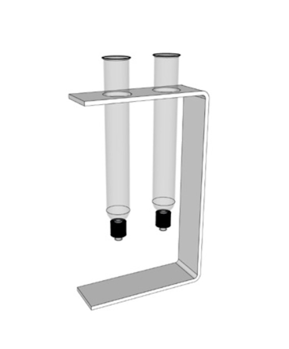 Empty Glass Humidor with alcohol defuser by LAS Design Geneva